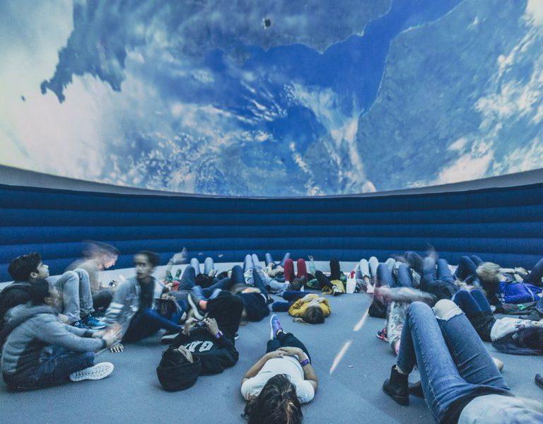 inside 10m dome