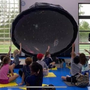 Kids with open air dome
