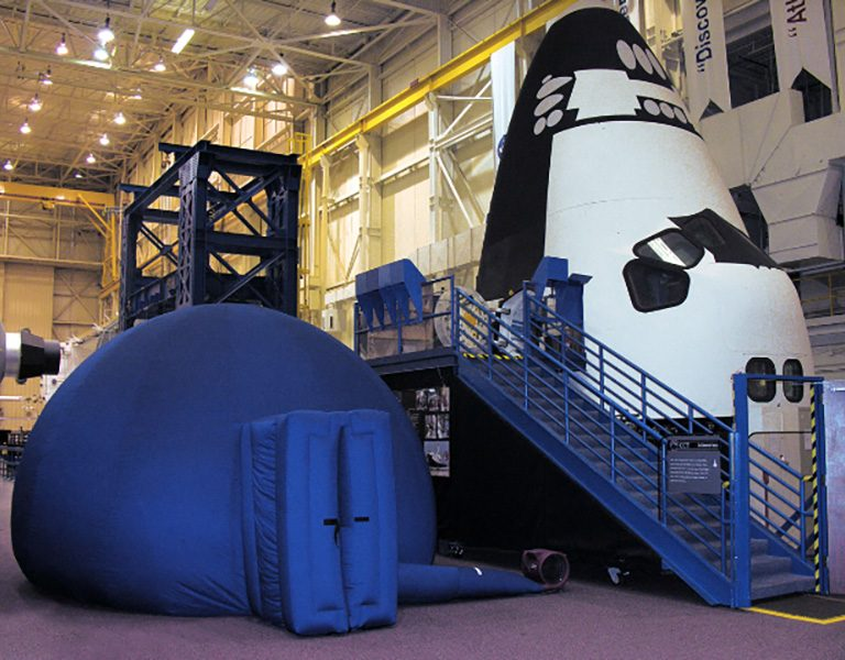 NASA planetarium